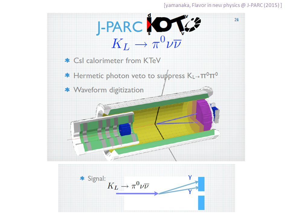[yamanaka, Flavor in new physics @ J-PARC (2015) ]